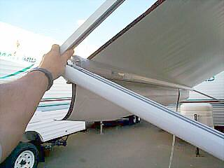 Rv Awning Operation Pictorial